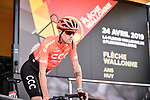 Alessandro De Marchi (ITA) CCC Team at sign on before the start of the 83rd edition of La Fl&egrave;che Wallonne 2019, running 195km from Ans to Huy, Belgium. 24th April 2019<br /> Picture: ASO/Gautier Demouveaux | Cyclefile<br /> All photos usage must carry mandatory copyright credit (&copy; Cyclefile | ASO/Gautier Demouveaux)