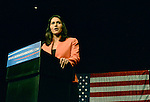 MIAMI, FL - MARCH 08: Congresswoman from Hawaii Tulsi Gabbard attends Senator Bernie Sanders, an independent from Vermont and 2016 Democratic presidential candidate Bernie Sanders holds a Future to Believe In campaign rally at the James L. Knight Center on Tuesday March 8, 2016 in Miami, Florida. ( Photo by Johnny Louis / jlnphotography.com )