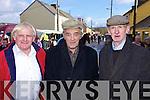 Patsy Carmody(Newcastle West), Dan Duggan(Templeglantine) and Eugene O'Connor(Newcastle West) enjoying the Annual Horse and Pony fair in Athea last Saturday morning.