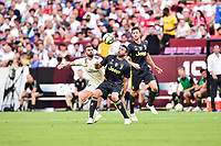 Landover, MD - August 4, 2018: Juventus defender Andrea Barzagli (15) looks in the ball during the match between Juventus and Real Madrid at FedEx Field in Landover, MD.   (Photo by Phillip Peters/Media Images International)
