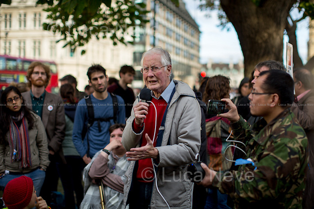 Michael Meacher MP (Labour Member of Parliament for Oldham West and Royton).<br />
