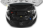 Car Stock 2019 Mercedes Benz Vito Base 4 Door Car Van Engine  high angle detail view