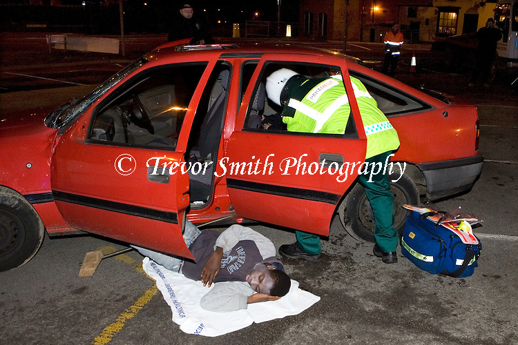 Road Traffic Accident Simulation Derbyshire | Trevor Smith ...