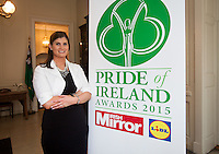 02/04/2015<br /> Aoife Clarke Head of Communications LIDL Ireland<br />  during the Pride of Ireland judging day in the Mansion House, Dublin.<br /> Photo:  Gareth Chaney Collins