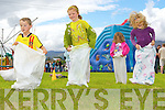 Ciera?n O'Brien, Ella McGillicuddy, Jenna McGillicuddy, Catriona Doyle-O'Brien and Brid O'Brien having sacks loads of fun at the Milltown family funday on Sunday.