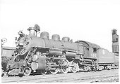 D&amp;RGW #804 in Denver.<br /> D&amp;RGW  Denver, CO  8/8/1938