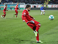 Benjamin Kessel (1. FC Kaiserslautern) - 21.02.2018: SV Darmstadt 98 vs. 1. FC Kaiserslautern, Stadion am Boellenfalltor, 2. Bundesliga