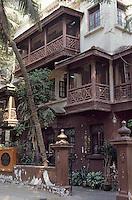 "Asie/Inde/Maharashtra/Bombay: Maison de Ghandi ""Mani Bhavan"""
