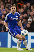Branislav Ivanovic of Chelsea during the UEFA Champions League group G match between Chelsea and FC Porto at Stamford Bridge, London, England on 9 December 2015. Photo by Andy Rowland.