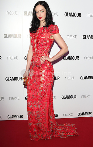 Krysten Ritter at The Glamour Awards 2016 at Berkeley Square Gardens London on June 7th 2016<br /> CAP/ROS<br /> &copy;Steve Ross/Capital Pictures /MediaPunch ***NORTH AND SOUTH AMERICAS ONLY***