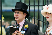 Alastair Warwick, General Manager of Ascot racecource, outside the Royal Enclosure on Ladies Day.
