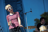 AUSTIN, TX - OCTOBER 14: Polica performs at the 2012 Austin City Limits Music Festival in Austin, Texas. October 14, 2012. © Joe Gall/MediaPunch Inc. /NortePhotoAgency