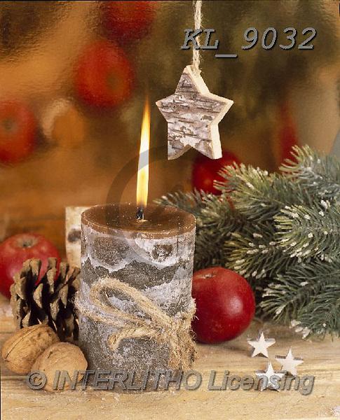 Interlitho-Alberto, CHRISTMAS SYMBOLS, WEIHNACHTEN SYMBOLE, NAVIDAD SÍMBOLOS, photos+++++,candle,KL9032,#xx#