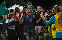 STANFORD, CA - August 24, 2018: Naomi Girma at Laird Q. Cagan Stadium. The Stanford Cardinal defeated the USF Dons 5-1.