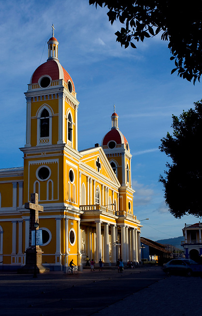 Nicaragua / Granada / Cathedral of Granada / Independence Plaza / Spanish Colonial