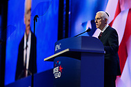 Washington, DC - March 4, 2018: AIPAC President Mort Fridman addresses attendees of the 2018 American Israel Public Affairs Committee (AIPAC) Public Policy Conference at the Washington Convention Center March 4, 2018.  (Photo by Don Baxter/Media Images International)