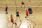 Pix: Shaun Flannery/sf-pictures.com....COPYRIGHT PICTURE>>SHAUN FLANNERY>01302-570814>>07778315553>>..2nd May 2008.........Great Britain mens & womens Volleyball team practice at the Institute for Sport, Sheffield.