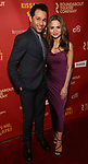 """Corbin Bleu and Sasha Clements attends the Broadway Opening Night After Party for """"Kiss Me, Kate""""  at Studio 54 on March 14, 2019 in New York City."""