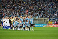 PORTO ALEGRE, RS, 02.11.2016 - GRÊMIO- CRUZEIRO -  Grêmio e Cruzeiro entram em campo, para partida válida pela semifinais da Copa do Brasil 2016, na Arena do Grêmio, nesta quarta-feira. (Foto: Rodrigo Ziebell/Brazil Photo Press)