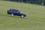 Land Rover Discovery 2 at the ALRC National 2008. The Association of Land Rover Clubs (ALRC) National Rallye is the biggest annual motor sport oriented Land Rover event and was hosted 2008 by the Midland Rover Owners Club at Eastnor Castle in Herefordshire, UK, 22 - 27 May 2008. --- No releases available. Automotive trademarks are the property of the trademark holder, authorization may be needed for some uses.