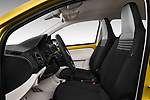 Front seat view of 2017 Volkswagen UP Move-up 5 Door Hatchback Front Seat  car photos