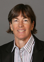 STANFORD, CA - SEPTEMBER 28:  Tara VanDerveer of the Stanford Cardinal women's basketball team poses for a headshot on September 28, 2009 in Stanford, California.