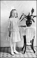 BNPS.co.uk (01202 558833)Pic: Bonhams/BNPS<br /> <br /> Winnie Barker, the young girl who was tragically killed when the Lusitania was sunk by the by the Germans.<br /> <br /> The tragic tale of a nine year old girl who was killed when the Lusitania was sunk by the Germans can be told after her mother's handbag emerged for sale 103 years later.<br /> <br /> Winnie Barker accompanied her mother Martha on the passenger liner which was en route from New York to Liverpool when it was torpedoed by a German U-boat on May 7, 1915, off Ireland.<br /> <br /> The pair were finishing lunch when the first torpedo struck and were stood on the deck for the fateful second blow.<br /> <br /> As the ship went down, they held hands and Winnie told her mother 'don't worry mother darling, we shall be saved'.<br /> <br /> Of the 1,962 passengers and crew members on board the Cunard liner, 1,201 were killed, including 159 Americans and three Germans held in the cells.