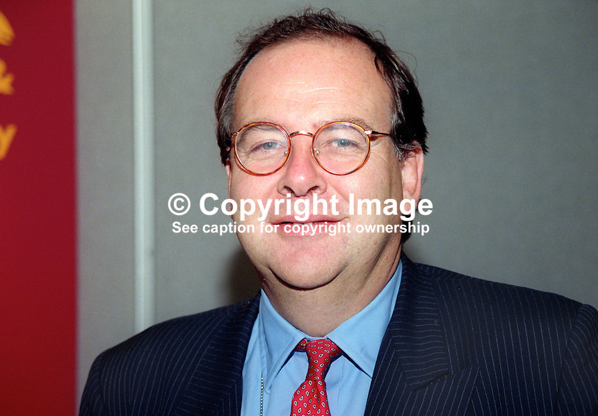 Charlie Falconer, MP, Labour Party, UK, October, 1997, 199710058<br /> <br /> Copyright Image from Victor Patterson, 54 Dorchester Park, Belfast, UK, BT9 6RJ<br /> <br /> t: +44 28 9066 1296<br /> m: +44 7802 353836<br /> vm +44 20 8816 7153<br /> <br /> e1: victorpatterson@me.com<br /> e2: victorpatterson@gmail.com<br /> <br /> www.victorpatterson.com<br /> <br /> IMPORTANT: Please see my Terms and Conditions of Use at www.victorpatterson.com