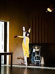 English National Ballet. Le Jeune Homme et la Mort. <br /> Coliseum Theatre, London, UK;<br /> Tamara Rojo;