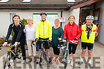 L-R Patricia Murphy from Headford, Maria O'Sullivan from Headford, Ray Moynihan from Killarney, Mary O'Sullivan from Millstreet, Margaret Curtin from Killarney and Sean Slattery from Killarney at the Barduff National School 80 km  Resource Cycle to raise the funds for school in Barrduff last Sunday morning.