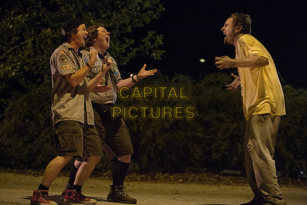 Scouts Guide to the Zombie Apocalypse (2015) <br /> Logan Miller and Joey Morgan<br /> *Filmstill - Editorial Use Only*<br /> CAP/FB<br /> Image supplied by Capital Pictures