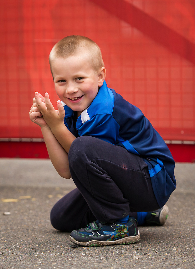 A young Preston North End fan at Griffin Park for the Brentford game<br /> <br /> Photographer Ashley Western/CameraSport<br /> <br /> The EFL Sky Bet Championship - Brentford v Preston North End - Saturday 17 September 2016 - Griffin Park - London<br /> <br /> World Copyright &copy; 2016 CameraSport. All rights reserved. 43 Linden Ave. Countesthorpe. Leicester. England. LE8 5PG - Tel: +44 (0) 116 277 4147 - admin@camerasport.com - www.camerasport.com