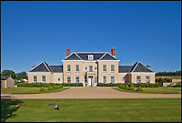 BNPS.co.uk (01202 558833)<br /> Pic: KnightFrank/BNPS<br /> <br /> ***Please use full byline***<br /> <br /> Highdon House, Dorset,  on sale for &pound;4.5m.<br /> <br /> To the Manor Reborn...<br /> <br /> Britain's super rich are turning their backs on the decaying stately piles beloved by the aristocracy and building brand new modern mansions on their country estates.<br /> <br /> Rather than investing in the leaky roofs and draughty windows of days gone by, modern millionaires are choosing to build plush pads from the ground up.<br /> <br /> And they are filling their dream homes with every conceivable luxury without the need for a bottomless sink fund to pay for the costly upkeep of older houses.<br /> <br /> Estate agents specialising in top-end properties have reported a clear swing from grand Victorian manor houses to state of the art modern homes kitted out with all the mod cons.<br /> <br /> The multi-million pounds properties have been popping up across the country over the past few years - and are now being heralded as the stately homes of the future.
