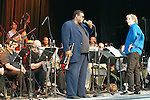 """Trumpeter Wallace Roney and an all-star orchestra performed the lost compositions of Wayne Shorter at the Roots & Ribs music festival at the Oskar Schindler Performing Arts Center in West Orange, NJ. The works, which included """"Legend"""" and """"Universe,"""" were played in concert for the first time in 45 years."""