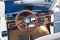 Golf Cart Burl Wood Steering Wheel, Dashboard, Custom, Classic, Unique,