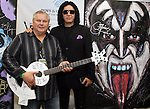 SIOUX FALLS, SD - MARCH 30: Gene Simmons from KISS poses for photos at the grand opening of the Brennan Rock and Roll Academy Saturday March 30, 2013 in Sioux Falls, SD. (Photo by Dave Eggen/Inertia)