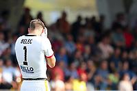 Delusione di Vid Belec Benevento dejection<br /> Benevento 01-10-2017  Stadio Ciro Vigorito<br /> Football Campionato Serie A 2017/2018. <br /> Benevento - Inter<br /> Foto Cesare Purini / Insidefoto