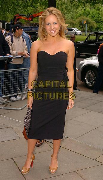 LUCY SILVAS.The Ivor Novello Awards at Grosvenor House, Park Lane, London, UK..May 25th, 2006.Ref: CAN.full length black strapless dress.www.capitalpictures.com.sales@capitalpictures.com.©Capital Pictures