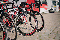 Team Cofidis bikes before the start<br /> <br /> 98th Brussels Cycling Classic 2018<br /> One Day Race:  Brussels &gt; Brussels (201km)