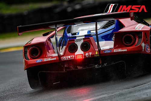 IMSA WeatherTech SportsCar Championship<br /> Continental Tire Road Race Showcase<br /> Road America, Elkhart Lake, WI USA<br /> Friday 4 August 2017<br /> 67, Ford, Ford GT, GTLM, Ryan Briscoe, Richard Westbrook<br /> World Copyright: Peter Burke<br /> LAT Images