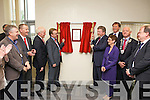 Dr. James O'Reilly, Minister for Health and P.J. Harnett, Kerry General Hospital Manager opening the Emergency Department at Kerry General Hospital on Friday.