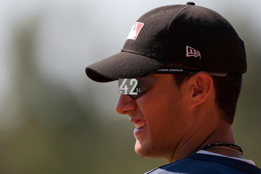 Baseball - MLB European Academy - Tirrenia (Italy) - 21/08/2009 - Eric Segura Gimenez (Spain)