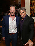 Michael McCorry Rose and Stephen Schwartz attends the DGF Salon with Stephen Schwartz at the Uterberg Residence on May 1, 2017 in New York City.