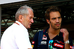 Helmut Marko (AUT), Red Bull Racing, Red Bull Advisor - Jean Eric Vergne [FRA] Scuderia Toro Rosso<br /> for the complete Middle East, Austria & Germany Media usage only<br />  Foto © nph / Mathis