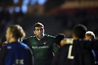Graham Kitchener of Leicester Tigers looks on during the pre-match warm-up. European Rugby Champions Cup match, between Leicester Tigers and Munster Rugby on December 17, 2017 at Welford Road in Leicester, England. Photo by: Patrick Khachfe / JMP