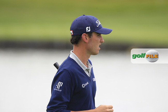 Renato Paratore (ITA) on the 1st fairway during Round 2 of the HNA Open De France  at The Golf National on Friday 30th June 2017.<br /> Photo: Golffile / Thos Caffrey.<br /> <br /> All photo usage must carry mandatory copyright credit      (&copy; Golffile | Thos Caffrey)