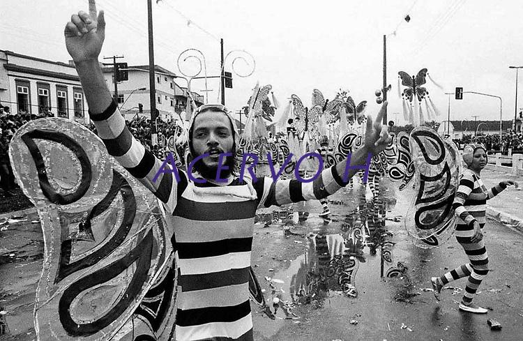 Carnaval em Bel&eacute;m .<br /> 1985<br /> Foto Paulo Santos