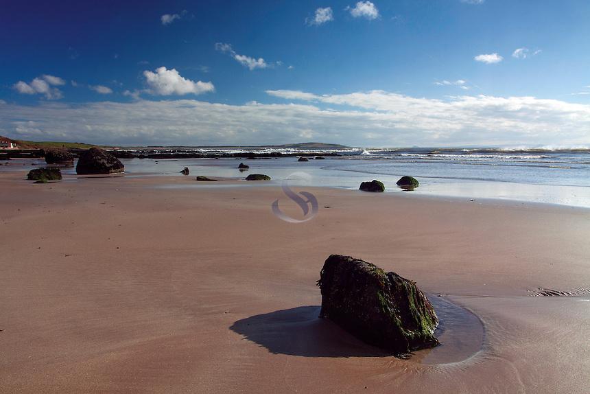 Lower Largo beach, the East Neuk of Fife, Fife