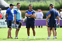 Bristol Rugby Head Coach Pat Lam looks on after the match. Pre-season friendly match, between Bristol Rugby and Bath Rugby on August 12, 2017 at the Cribbs Causeway Ground in Bristol, England. Photo by: Patrick Khachfe / Onside Images