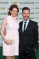 "Lauren Dixon, Neil Mandt<br /> at the ""Million Dollar Arm"" World Premiere, El Capitan, Hollywood, CA 05-06-14<br /> David Edwards/Dailyceleb.com 818-249-4998"
